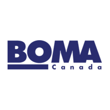 Logo and link to BOMA Canada. BOMA Canada facilitates national initiatives and the exchange of ideas that support our member associations in the promotion of education, advocacy, recognition of excellence and networking.